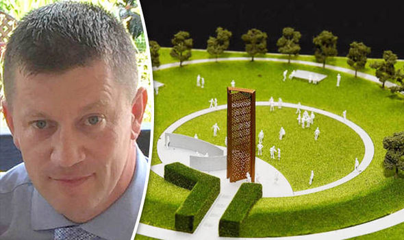 Daily Express readers have been praised for their support for a UK Police Memorial