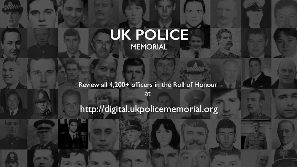 Uk Police Memorial Linkl